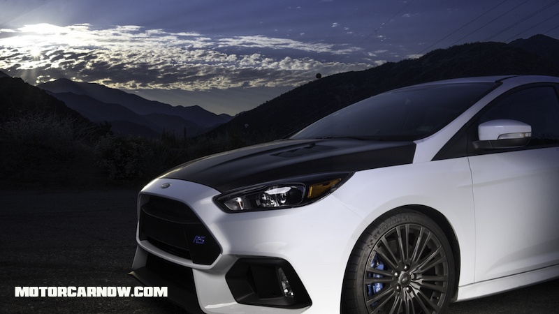 Motor car now ford focus rs